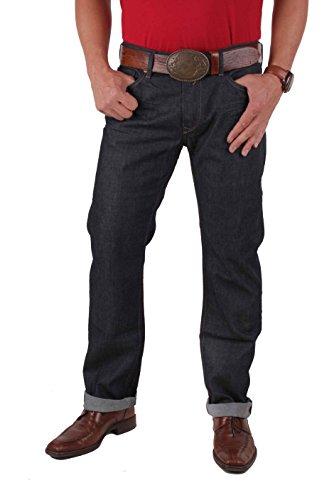 Diesel Men's Waykee Regular Straight Leg Jeans Blue Denim Wash 0088Z 30W x 32L
