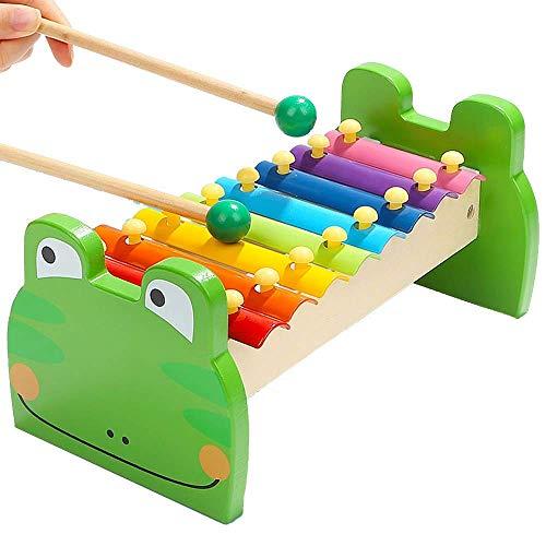 DYFYF Hammer Stampfen Spielzeug pädagogisches Spielzeug Xylophone Form Sorter, Weihnachten Geburtstagsgeschenk for 1 2 3 + Jahre alt Jungen-Mädchen-Baby-Kleinkind Developmental Learning-Block-Spielzeu