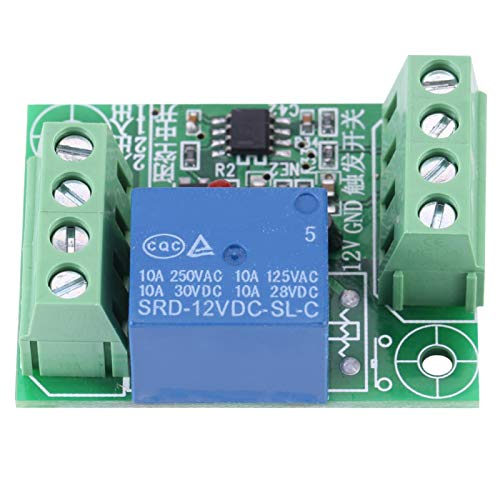 Interruptor táctil suave de 1 canal, relé de interruptor de disparo de circuito de 12 V para condiciones de interfaz, relé de módulo de disparo de nivel bajo