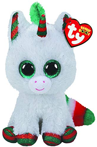 Ty UK Ltd Xmas Snowfall Unicorn Natale 2020-Boo-Reg, 36238