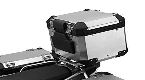 BMW R1200GS ADV Juego de respaldo acolchado para baúl de aluminio, color negro R1200GS LC ADV.