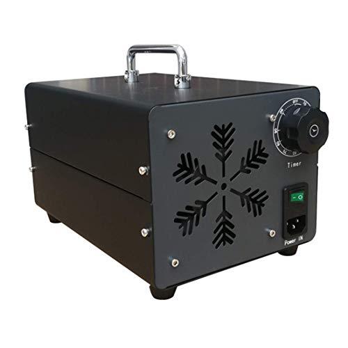 GXXDM Generador de ozono Comercial Industrial, máquina de ozono purificador de Aire O3, máquina generadora de ozono portátil con Temporizador para el hogar, Oficina, Hotel, Restaurante,