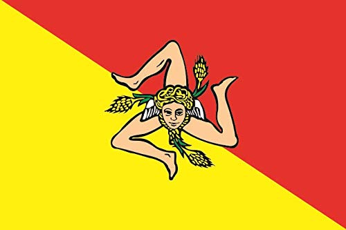 U24 Fahne Flagge Sizilien 90 x 150 cm