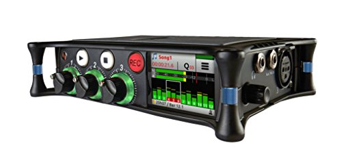 Sound Devices MixPre-3M Portable Multitrack Audio Recorder and USB Audio Interface with Overdub for Musicians