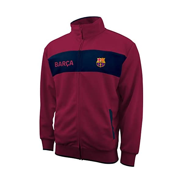 Icon Sports UEFA Champions League – Official Men's Casual Full Zip Up Track Jacket...
