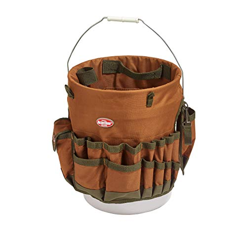 Bucket Boss The Bucketeer Bucket Tool Organizer in Brown, 10030 Pack of 2
