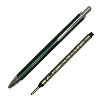 Schmidt Capless Rollerball Pen Anodized Green  SC82187