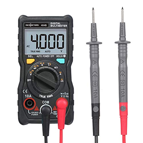 Affordable Handheld Digital Multimeter RM404B Multifunction Mini Multi Meter AC/DC Voltage Transisto...