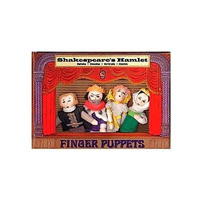 Philosophers Guild  Fingerpuppen-Set SHAKESPEARE�S HAMLET magnetisch
