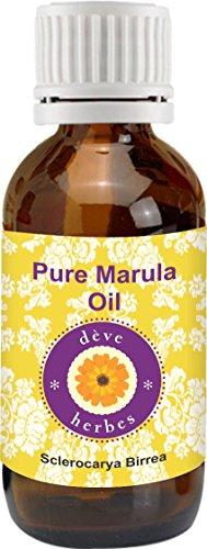Pure Marula Oil 15ml (Sclerocarya birrea) 100% Natural Cold Pressed