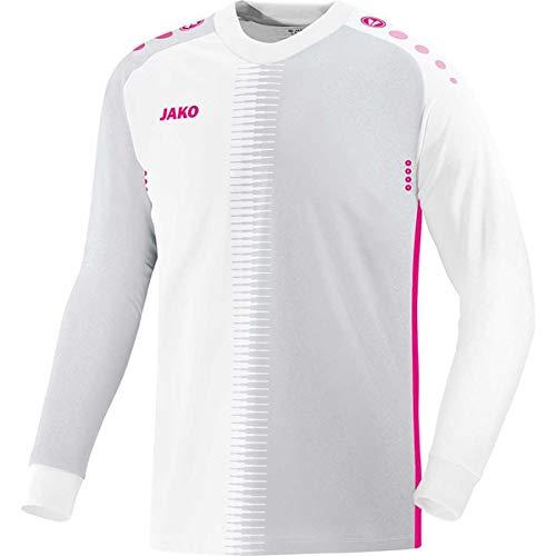 Sport-Kanze Jako Torwarttrikot inkl Rückennummer Competition 2.0 8918 weiß/pink 152