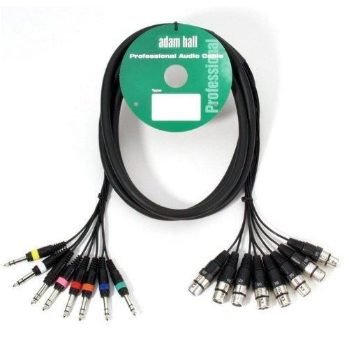 Adam Hall 5 m 8 x 6,3 mm de audio con conector...