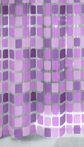Kleine Wolke x Duschvorhang, Kunststoff, violett, 180 cm x 200 cm