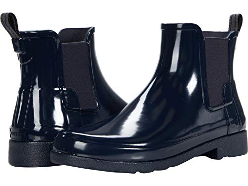 Hunter W Org Refined Chelsea - Botas de agua para mujer, color, talla 42 EU