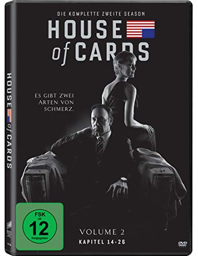 House of Cards - Die komplette zweite Season [4 DVDs]