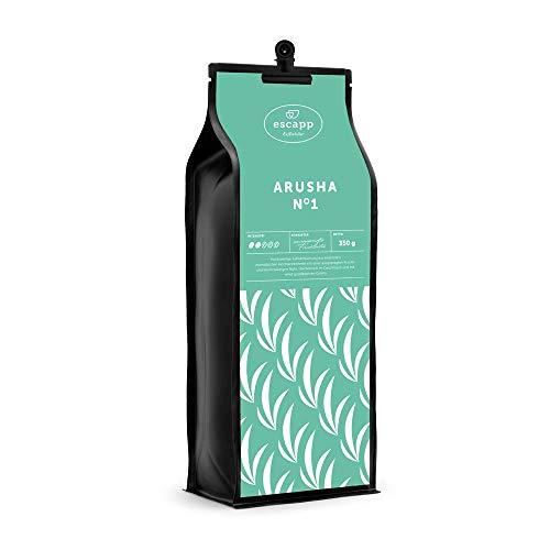 Kaffee escapp Länderkaffee Tansania ARUSHA N°1 gemahlen 350 Gramm