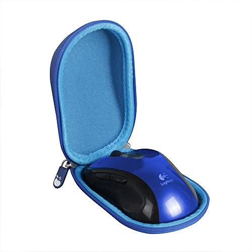 Hermitshell Hard Travel Case for Logitech M510 Wireless Mouse - Only Case (Blue)