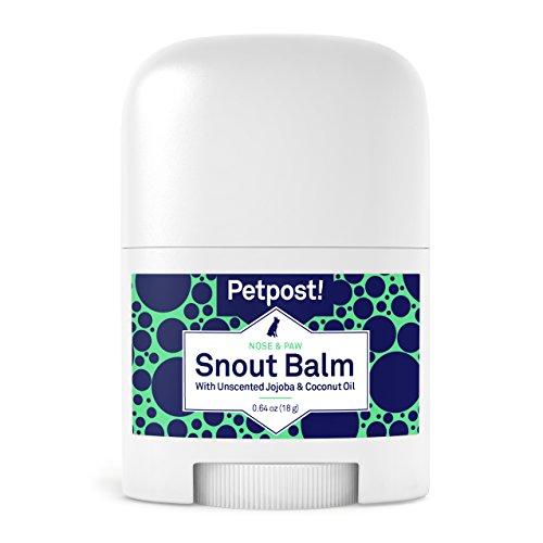 Petpost | Schnauzen-Balsam für Hunde – pflegt, beruhigt und schützt trockene Hundenasen mit feuchtigkeitsspendenden Zutaten – Bio-Kokosöl, Jojobaöl und Sheabutter