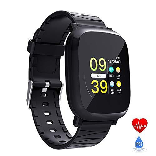 Mengen88 kleurendisplay Smart armband 1,3 inch hartslagfrequentie bloeddruksportarmband Bluetooth stappenteller zittende herinnering oproepen en herinnering op afstand