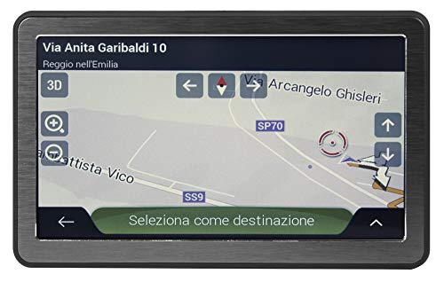 Phonocar NV-006 GPS-navigatie, draagbaar, 7 inch, bluetooth, achteruitrijcamera (truck-kaart)