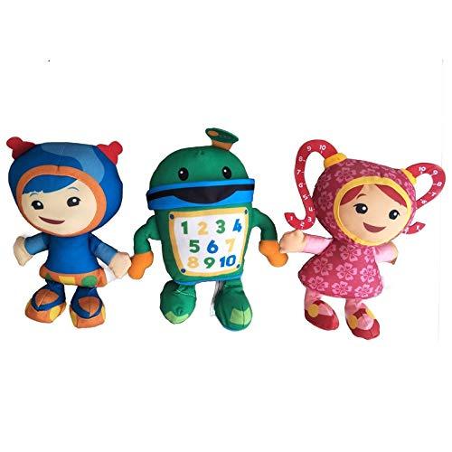 Team Umizoomi Bot MILLI Geo Plush Toy Doll Soft Stuffed Toys for Children Kids Christmas Gifts 3pcs/lot 20cm