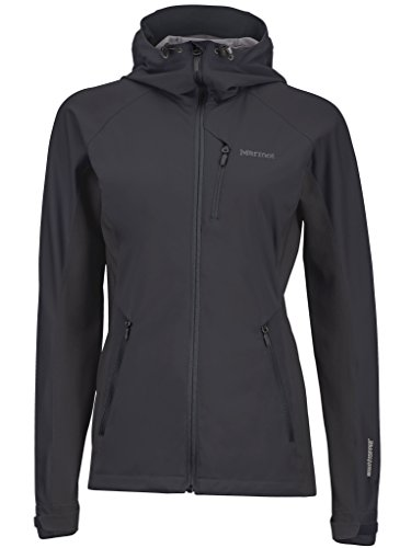 Marmot Damen Softshelljacke ROM Jacket, Black, L, 85700-001-5