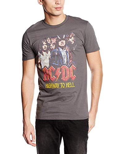 Cid AC/DC - H2H Photo T-Shirt Homme Multicolore FR : XXL (Taille Fabricant : XXL)