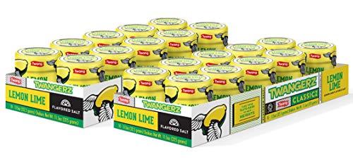 Twangerz Snack Topping, Lemon Lime, 1.15 Ounce Shaker (Pack of 20)