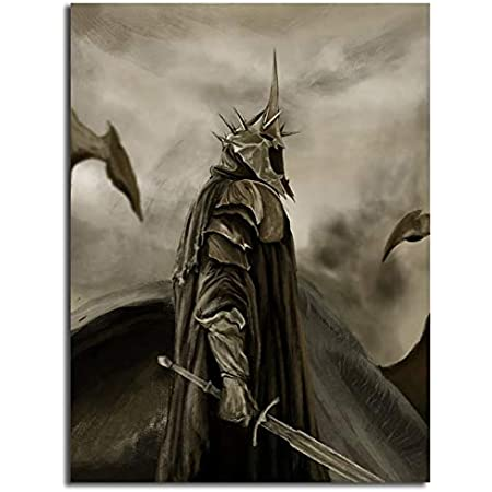 Middle Earth Print LOTR Gifts Lord of the Rings Canvas Print LOTR Wall Art LOTR Print The Witch-King Canvas Print