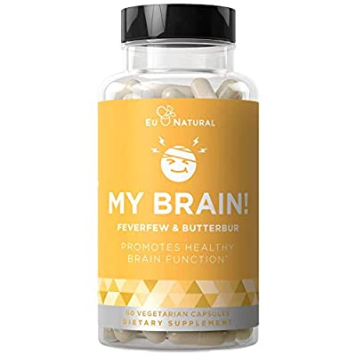 Healthy Head Function – My Brain! is your one secret to power through your day. You can have the confidence that every capsule has the strength and potency that you are looking for in a feverfew supplement. Lab Certified Purity – We blend all our pro...
