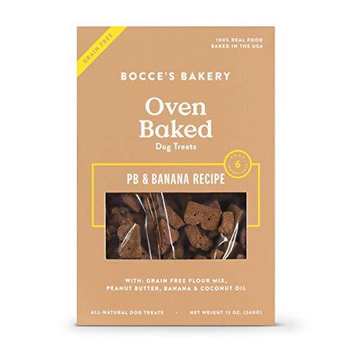 Bocce'S Bakery Grain-Free Pb + Banana Dog Treat, 12 Oz