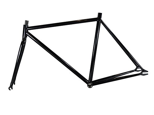 Fixed Gear Fahrrad 48,3cm Stahl Rahmen mit Gabel, Fixie, Single Speed, Track Bike,