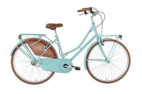 Alpina Bike Olanda, Bicicletta Donna, Acquamarina, 26'