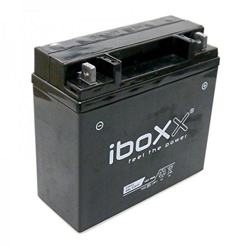 Iboxx Motorrad Gel Batterie / Gelbatterie BMW 51913, 12 Volt, 19 Ah für BMW R 1150 RT, 419, R22/R21, Bj. 2004