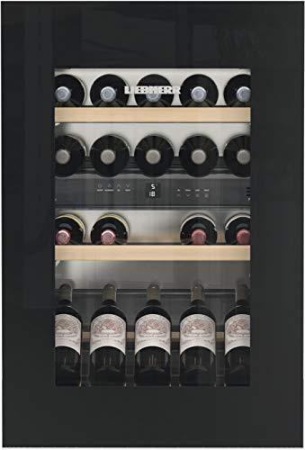 Liebherr EWTgb 1683 Weinkühler, Einbaukühler, Grau, 4 Regale, 1 Tür, Schwarz