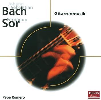 J.S. Bach: Gitarrenmusik