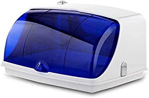 UV Tipo sterilizzatore C Disinfezione in 10 secondi elimina il 99,9/% di virus e batteri bassa potenza non c/è bisogno di batteria Sterilizzatore UV Bianco