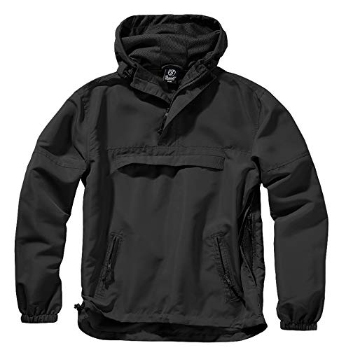 Brandit Summer Windbreaker, Schwarz, 3XL