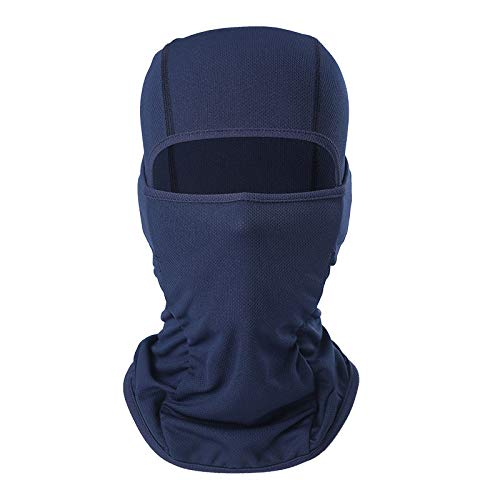 AXBXCX Balaclava - Breathable Face Mask Sun UV Protection for Motorcycle 10 Deep Blue