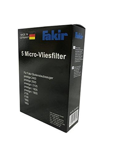 Fakir Micro-Vliesfilter A 5 für Air Wave und prestige Serie