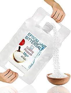 Rent Epsom Salt 15 pund naturligt magnesium ● Återförslutningsbar stående påse ● Lätt att använda