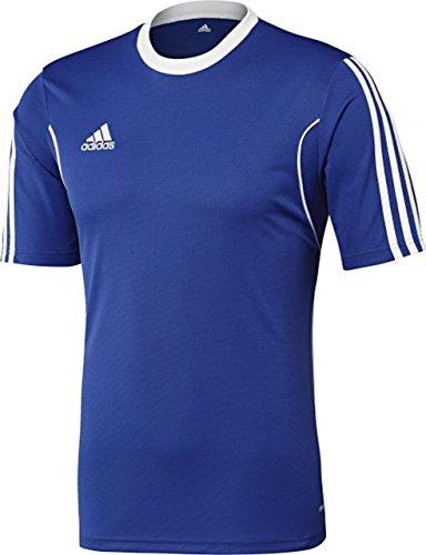 adidas Longsleeve Jersey Boys Squadra13 Camiseta, Hombre, Azul/Blanco, L