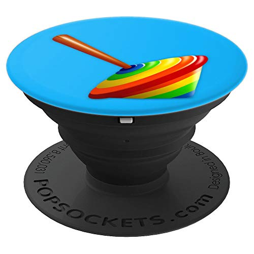 Spinning Top Toy Centrifugal Force Rainbow Toy Design