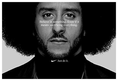 PosterWarehouse2017 Colin Kaepernick 'JUST DO IT' Replica Nike AD Poster