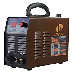 Product Name: Lotos LT3500 35Amp Air Plasma Cutter, 2/5 Inch Clean Cut, 110V/120V Input with Pre Installed NPT Quick Connector, Portable from Lotos Technology