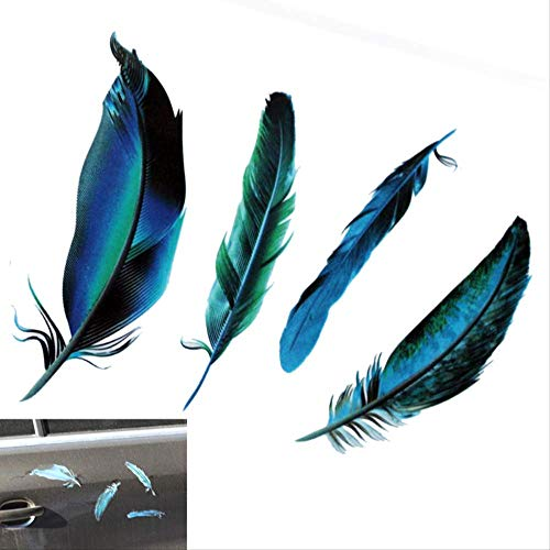RUIRUI Car Styling Funny 3D Cartoon Colorful Frogs Spider Feather Car Stickers Decal Vinyl Cover Body Scratched Motorcycle Accessories