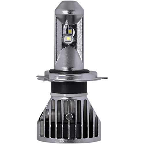 PIAA 16-77404 Powersport H4 G3 LED Bulb 12/24V 24W 6200K Single Pack Powersport H4 G3 LED Bulb