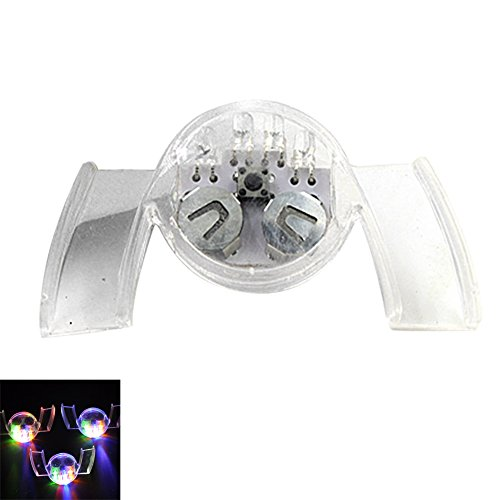 Baifeng LED Blinklicht Mundschutz Stück leuchtende Zähne Spielzeug Halloween Party Requisiten One Size siehe abbildung