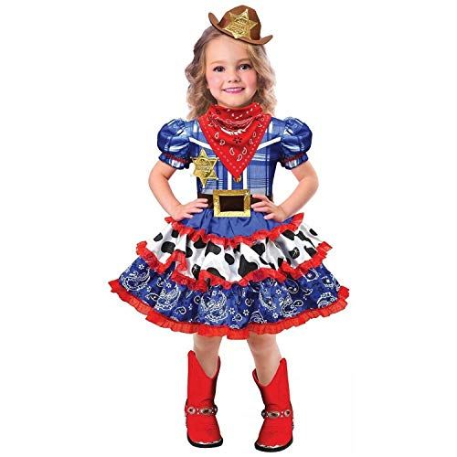 amscan 8402355 Child Rodeo Cowgirl Costume Set - Small Size