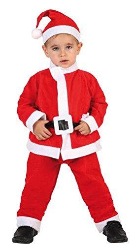 Atosa-69211 Disfraz Papá Noel Niño Infantil, color rojo, 5